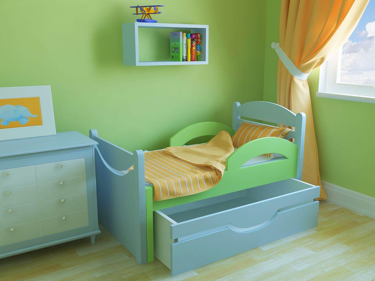 Детская кровать от 3 лет с бортиками своими руками